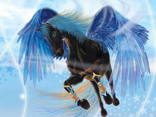 Gorgeous Pegasus in Bella Sara