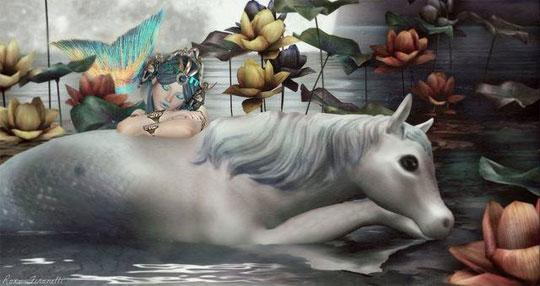 Magical Horses in Second Life