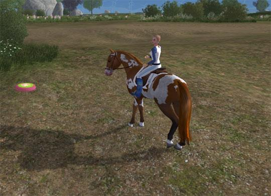 Beautiful Mare in Planet Horse