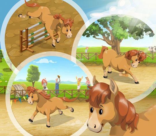 The Horses of Big Farm