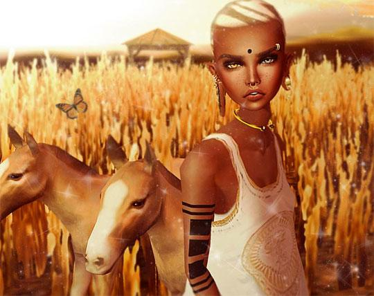 Gorgeous Foals in IMVU