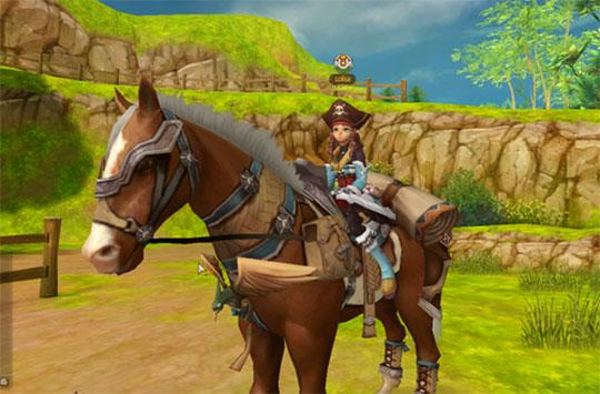 Enjoy Riding Your Horse in Alicia Online