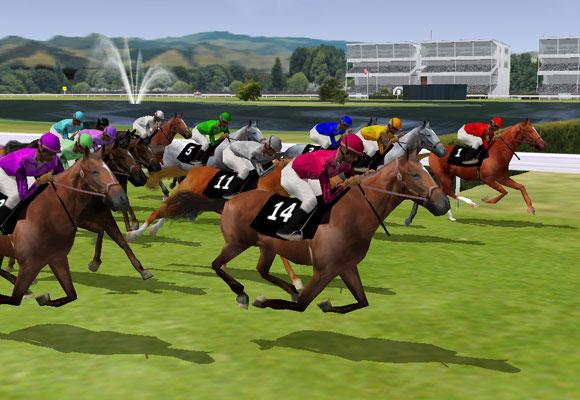 Enjoy the Thrill of Horse Racing in Horse Racing 3D