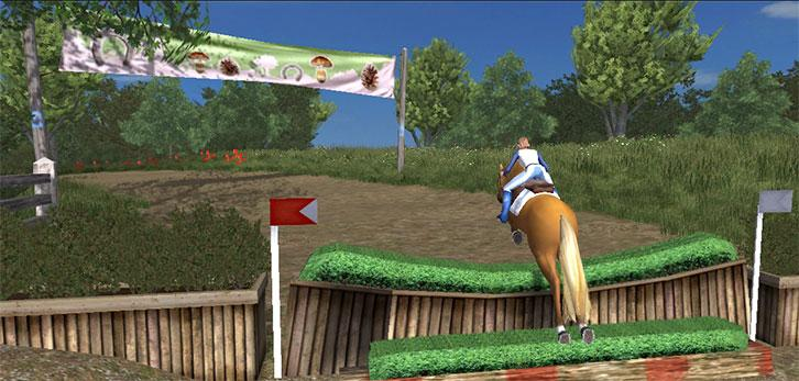 Challenging Horse Jumps in Planet Horse