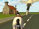Horse vs plane in Horse Simulator
