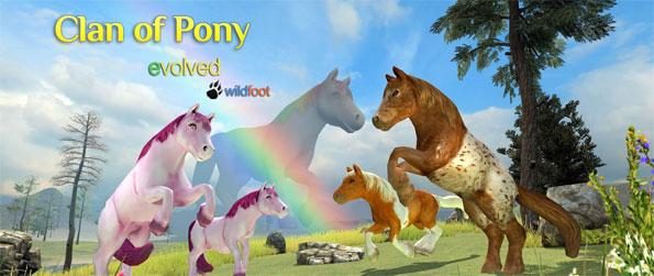 Clan of Pony - Play as a wild pony and survive in the open world in Clan of Pony.