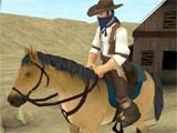 Western Cowboy - Horse Racing selecting a horse