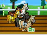 Racing in Horse Frenzy