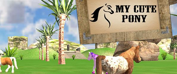My Cute Pony Horse Simulator - Explore a vast forest as you ride around with your horse in this simple horse riding game.