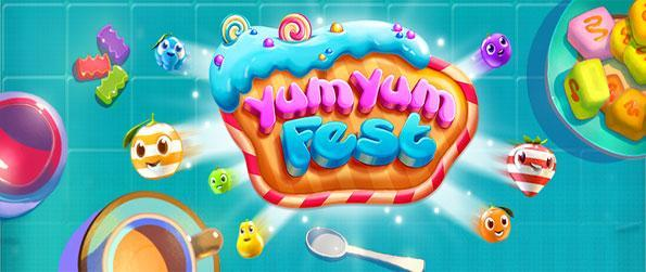 Yum Yum Fest - Disfrute de un partido maravillosamente lindo match 3 gratis en Facebook.