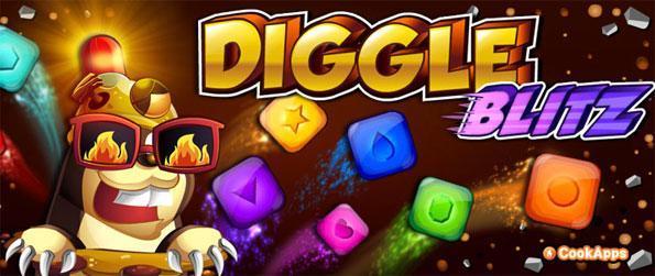 Diggle Blitz - Disfruta de la acción que revienta bloque de ritmo rápido con refuerzos impresionantes!