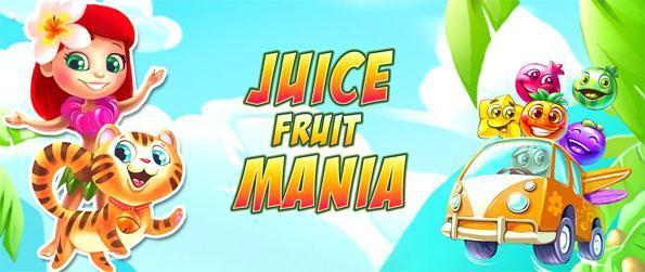 Juice Fruit Mania - Disfrute de un juego lleno de dulces divertido partido 3.