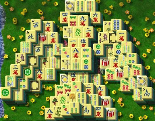 Angel Pattern in Dragon King Mahjong