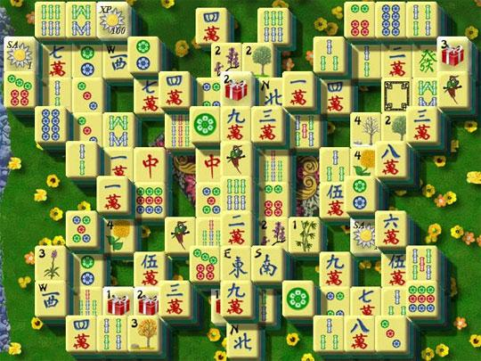 Butterfly in Dragon King Mahjong
