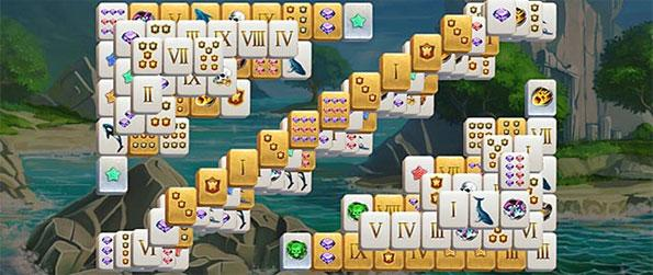 Mahjong Gold - Embark on a quest to get your hands on some ages old treasure left behind by legendary pirates.
