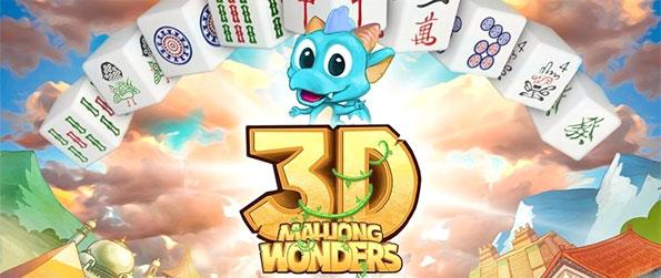 Mahjong Wonders 3D - Play this awesome mahjong game that'll give you hours upon hours of fun and enjoyment.