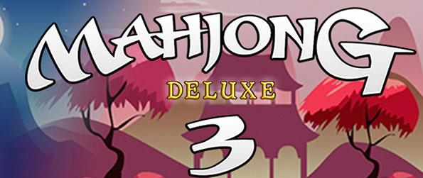 Mahjong Deluxe 3 - Enjoy many challenging mahjong puzzles with varying layouts in Mahjong Deluxe 3!