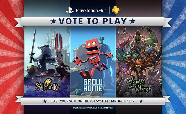 Vote to play PS Plus