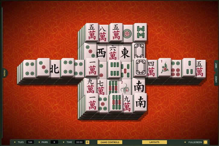 Tower and Walls layout in TheMahjong.com