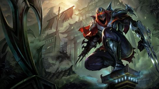 Zed in League of Legends
