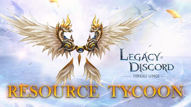 Legacy of Discord Event: Pegasus and Resource Tycoon