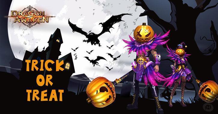 Dragon Awaken's Halloween Code Giveaway