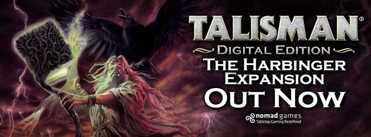 Asmodee Digital's Talisman: Digital Edition Expansion 'The Harbinger' Out Now
