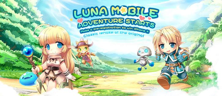 Pre-Register for Luna Mobile Now and Stand a Chance to Win an iPhone X