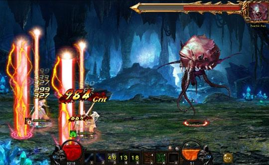 Explore Amazing Dungeons in Wartune