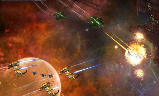 Battle in Space with Dark Orbit