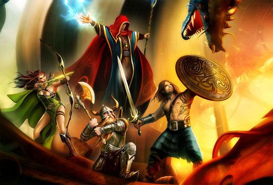 Become a Mighty Hero in Drakensang Online