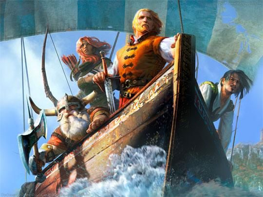 Set Sail for Adventure in Drakensang Online