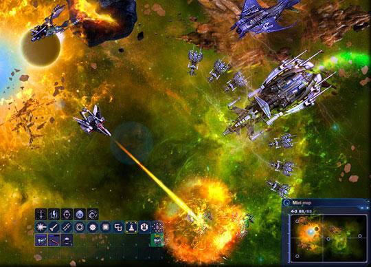 Enjoy Mass Battles in the Stunning Dark Orbit