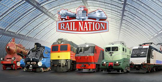New Locomotives in Rail Nation