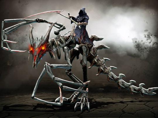 Battle the Reaper in Drakensang Online