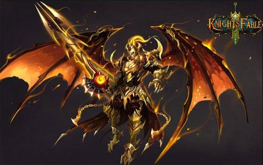 The Dragon Knight in Knights Fable
