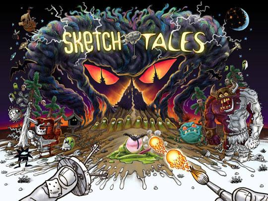 New Game in Development: Sketch Tales