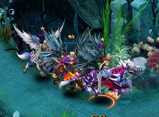 Ride to Battle in Shadowbound