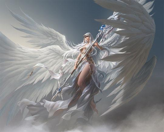 Call Upon Athena in League of Angels
