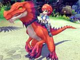 Raptor mount in Dragomon Hunter