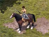 Horse mount in Wild Terra
