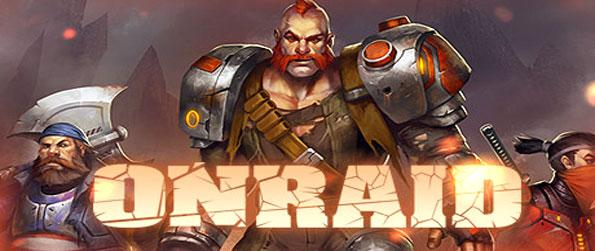 ONRAID - Play this innovative 2D shooter that'll allow you to play exactly how you want to.