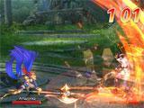 Combat gameplay in Dragon II