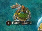 Pirates of the Caribbean: Tides of War Farm Island