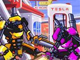 Steel Champions 2035 intense fight