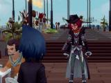 Meeting Ardyn in FFXV Pocket Edition