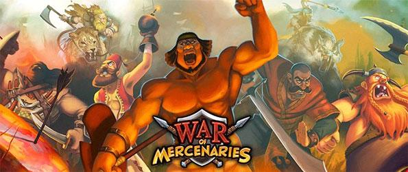 War of Mercenaries - Enjoy a fun strategy game, where you can conquer the world free on Facebook.
