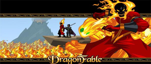 Dragon Fable - A dragon egg has been stolen and a priestess needs your help, can you find the missing egg in time?
