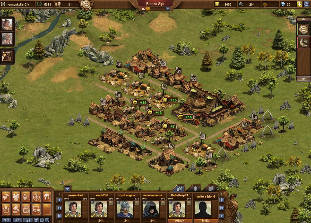 Forge of empires gameplay 2014 world