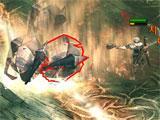 Angel Stone intense battle